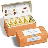 Tea Forte Classic Herbal Tea Presentation Box Tea Sampler Gift Set, 20 Assorted Variety Handcrafted Pyramid Tea Infuser Bags,