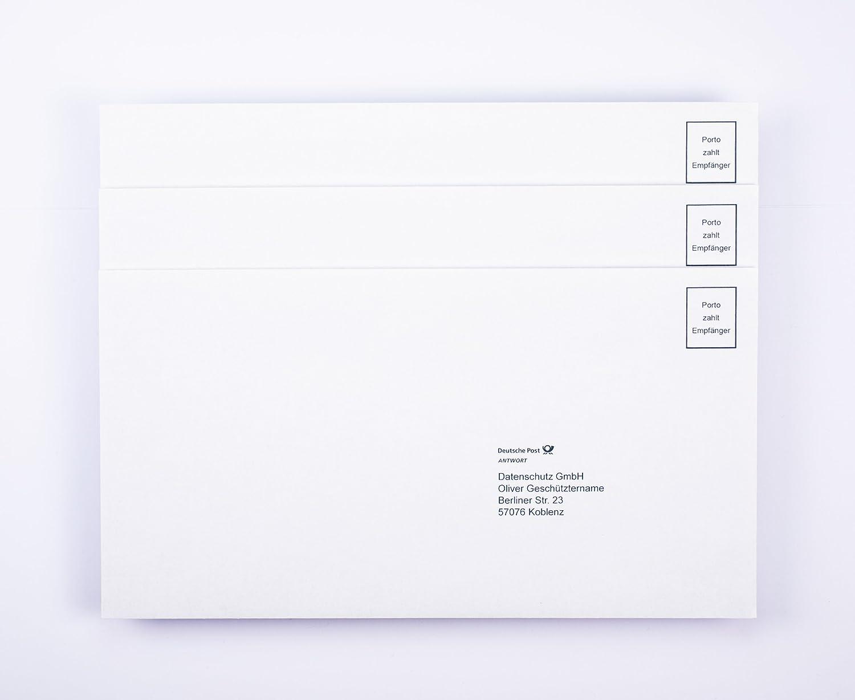 deutsche post antwort frankieren