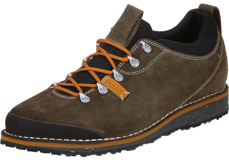 AKU Badia Niedrig GTX Schuhes Unisex Braun/Orange Schuhgröße UK 11,5 | 46,5 2018 Schuhe