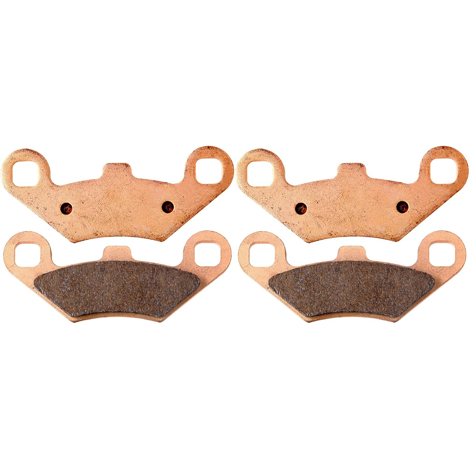 ECCPP FA159 Brake Pads Front Sintered Replacement Brake Pads Kits Fit for 2003-2012 Polaris