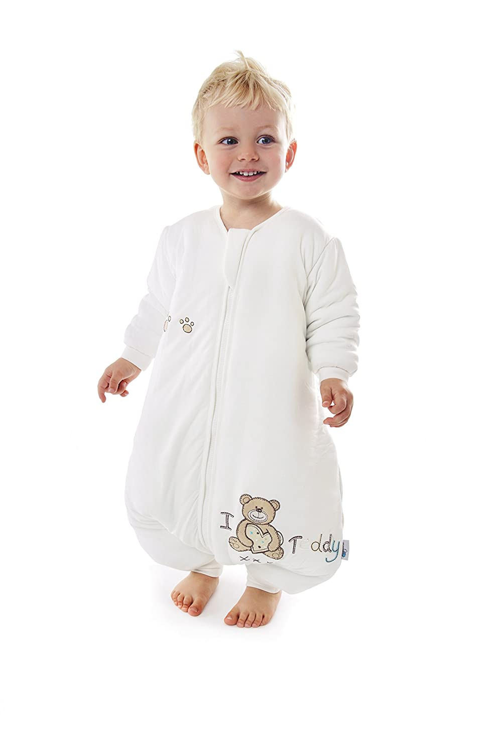 Slumbersafe Winter Bamboo Sleeping Bag With Feet 3.5 Tog I Love Teddy 3-4 years