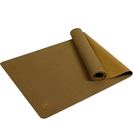 YOZOE Yoga Rubber Mat 1.5-4mm Professional Fitness Exercise Non Slip Yoga Mat for Fitness & Workout