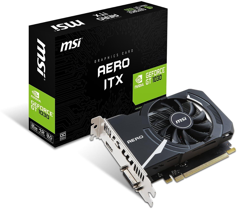 MSI GeForce GT AERO ITX G OC Tarjeta gráfica tamaño ITX GB