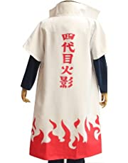 UU-Style Naruto Fourth Hokage Yondaime Hokage Minato Namikaze Cosplay Cloak