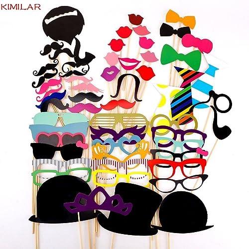 accessoires de déguisements - 58 pièces