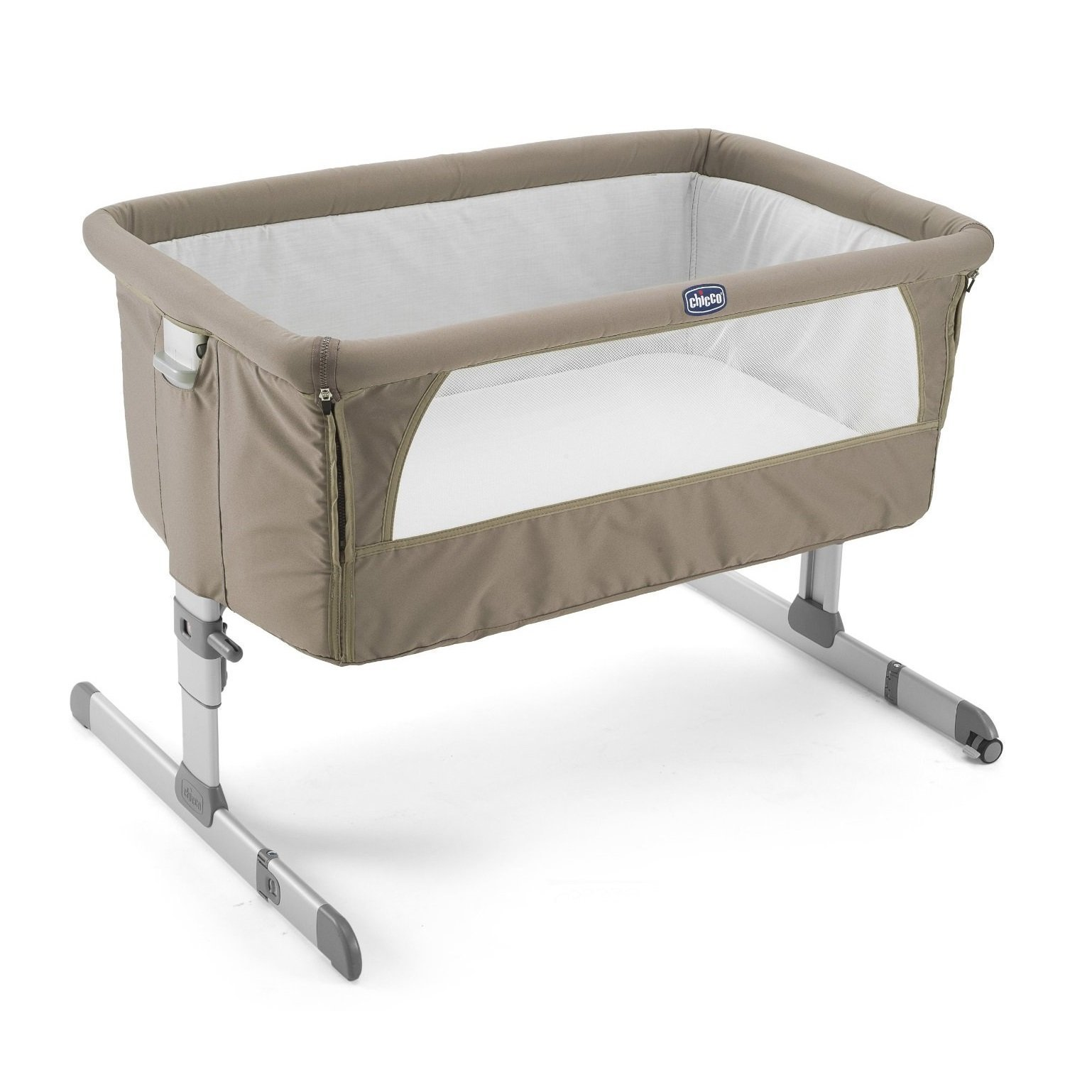"Amazon.com: Chicco Cuna de dormir lateral Next2Me ""gris ..."