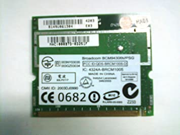 DRIVERS UPDATE: DELL INSPIRON 8500 BROADCOM ETHERNET