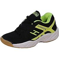 HINDON Smash Badminton Shoes Sabarlon PU Unisex (Non Marking)