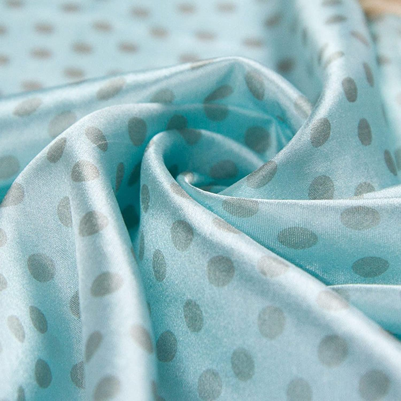 100% Silk Scarf Women Scarf Leopard Print Small Square Silk Scarf (Green)