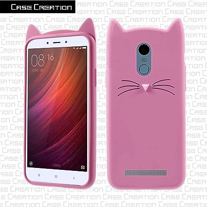 buy popular b2ef2 9b81a Case Creation Redmi Note 3 Cat Covers,Cute 3D Mustache: Amazon.in ...