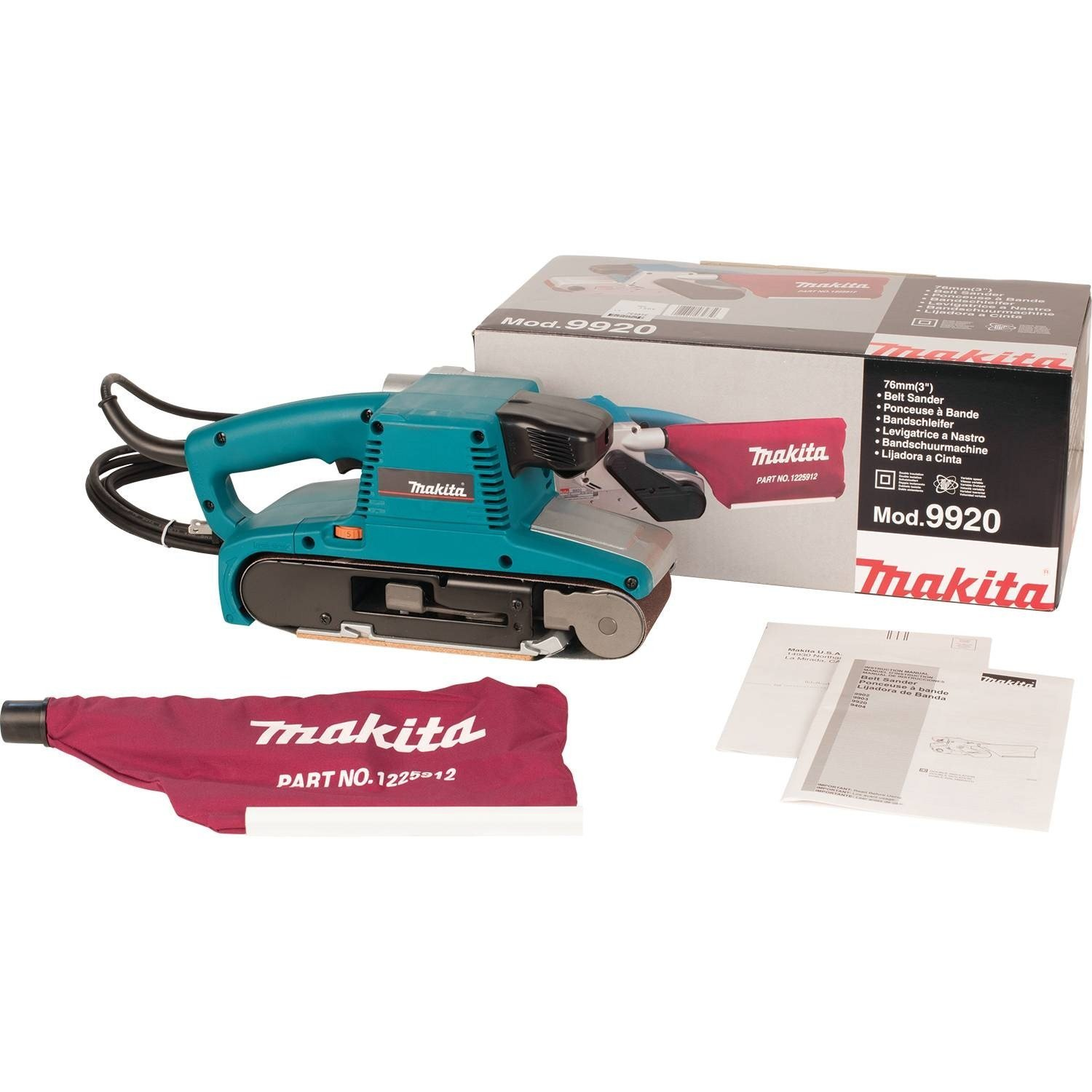 Makita 9920 Belt Sanders product image 7