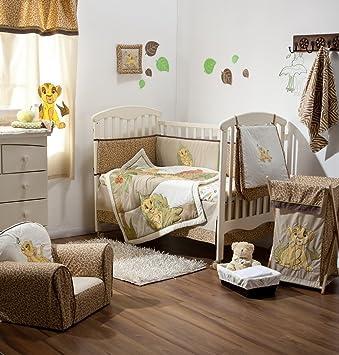 Genial [Disney Lion King] 4 Piece Crib Bedding Set Bedding Collection (Bumper)