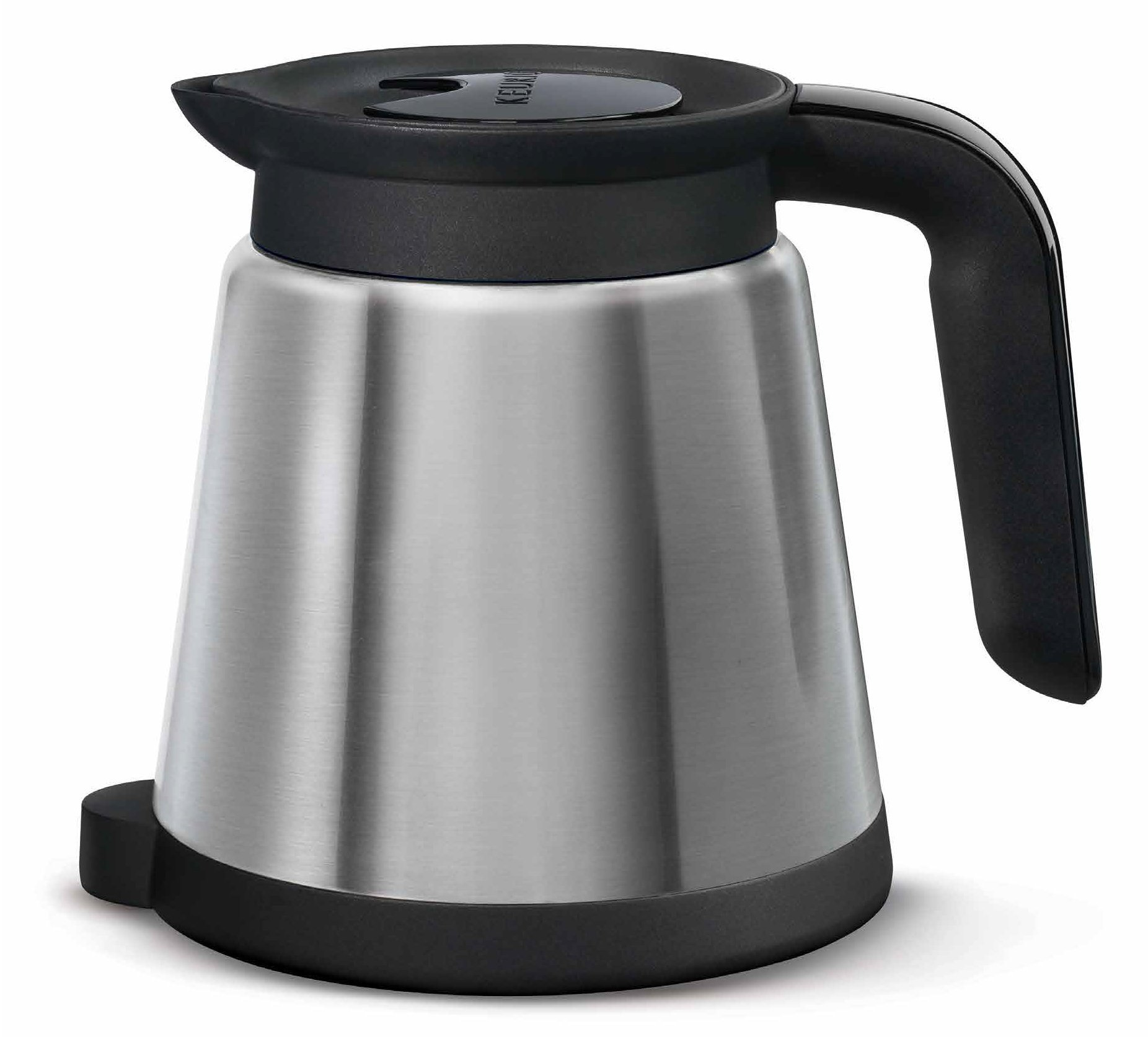 keurig 2 0 thermal carafe 32oz double walled vacuum insulated stainless steel carafe holds. Black Bedroom Furniture Sets. Home Design Ideas