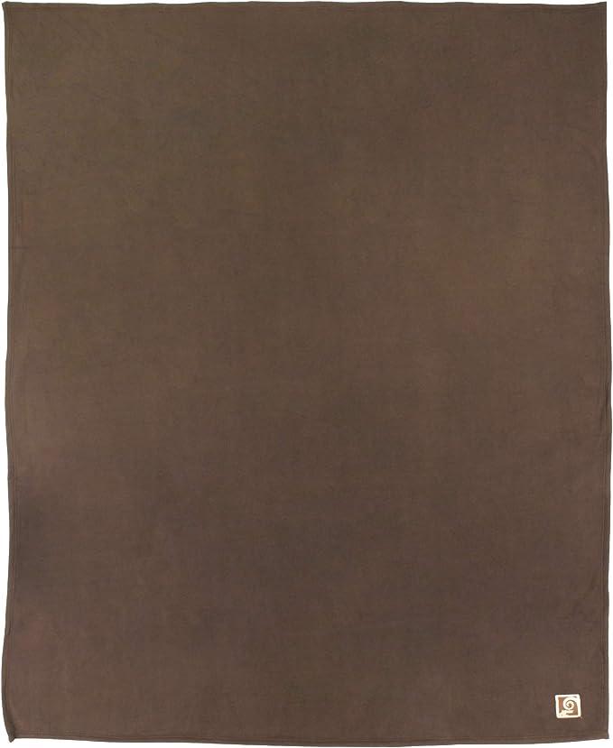 Linnea Couverture Polaire 240x260 cm 100/% Polyester 350 g//m2 Teddy Marron Chocolat