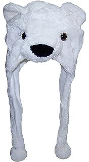 Best Winter Hats Adult Teen Plush Animal Character Ear Flap Cap (One Size) e3f8ed51c302