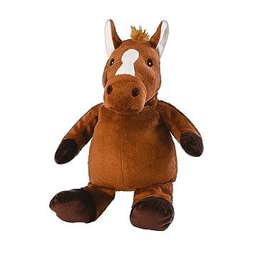 T-Tex Warmies Peluche Termico Cavallo Pelo Raso Estraibile