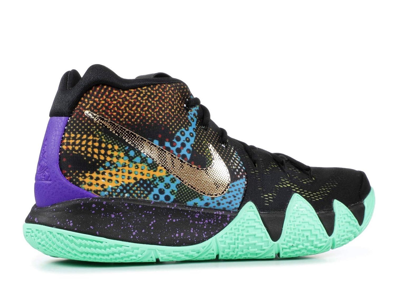 best website af0a1 da2b3 Nike Kyrie 4 Mamba Mens Basketball-Shoes AV2597-001_10.5 - Black/Sonic  Yellow-Purple Venom