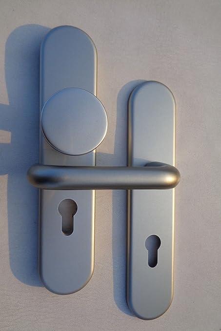 Aluminio para cerraduras Boston para puertas de viviendas en F9, 72 mm