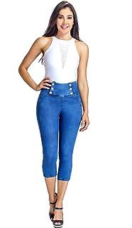 ab29879796cf Amazon.com  Lowla Mid Rise Slim Fit Stretch Denim Shorts ...