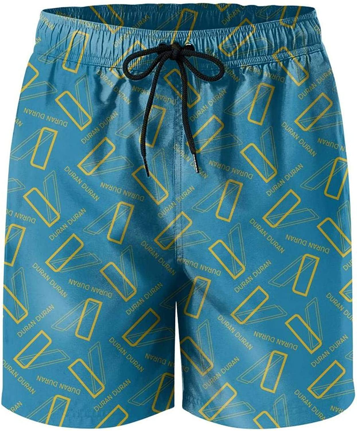Mens Beach Shorts Design Music Swimsuit Trunks Jogging Classical Surfing Board