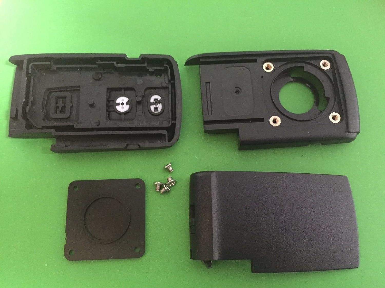 2 Botón remoto caso clave Shell para Toyota Prius Corolla Verso Smart Key Fob