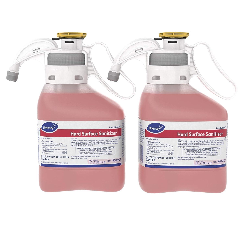 Diversey Hard Surface Sanitizer (Bland, 1.4-Liter, Case of 2)