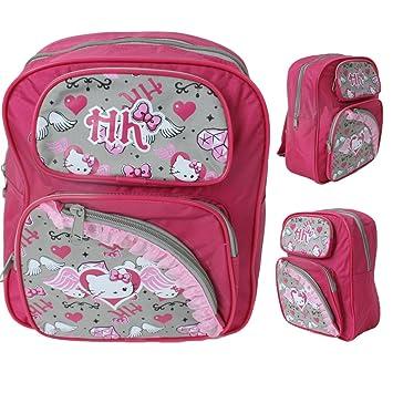 Hello Kitty Mochila Mochila Para Niños Líder Bolso de bicicleta pink: Amazon.es: Juguetes y juegos
