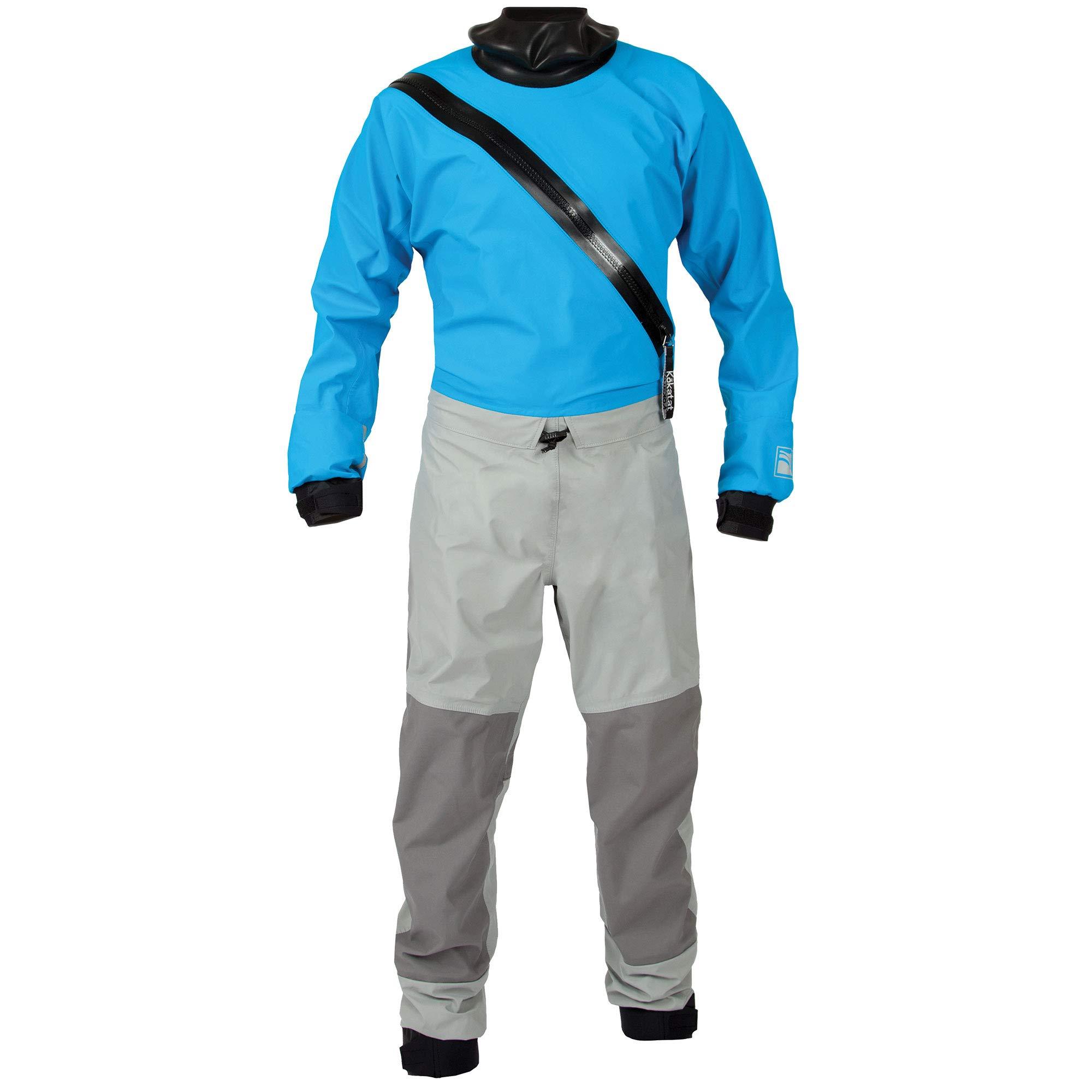 Kokatat Men's Hydrus Swift Entry Drysuit-Electric Blue-XXL