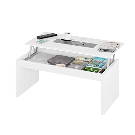 Habitdesign 0t1638bo Lift Top Coffee Table With Storage Finish