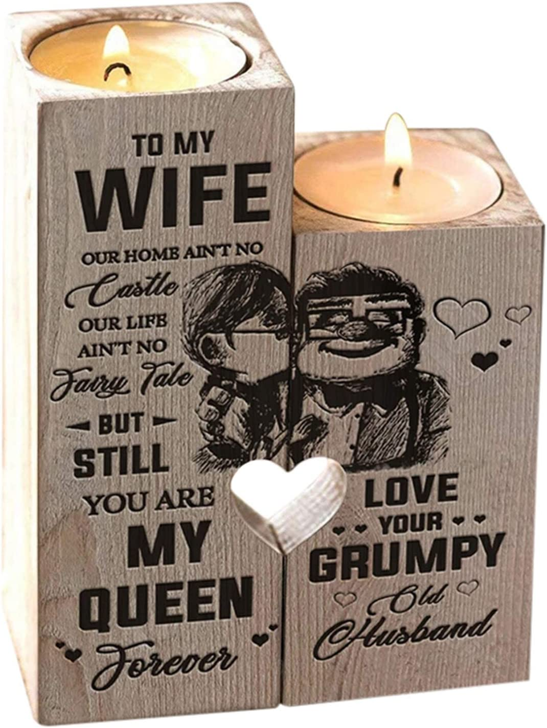 Wife You Are My World  Happy Birthday 8oz Soy Candle