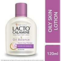 Lacto Calamine Face Lotion for Oil Balance - Oily Skin - 120 ml