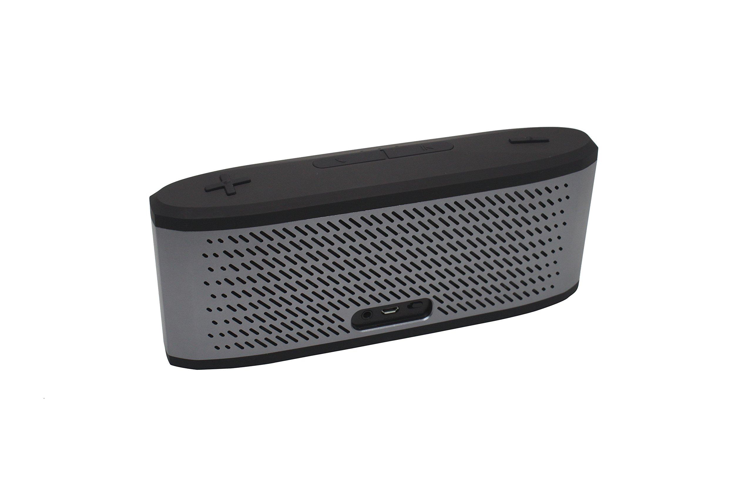 EMB ES950BT-X1 Indoor/Outdoor High-Definition Super Loud Portable Bluetooth Speaker - Grey