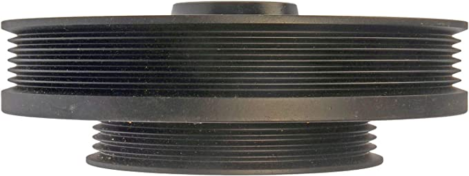APDTY 605203 Harmonic Balancer Crank Pulley Dampener Assembly Fits 2001-2005 Honda Civic 1.7l Engine; Replaces 13810-PLM-A01, 90704-634-000