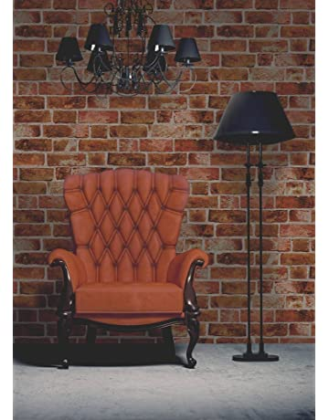 4b9af7d0975 Brewster FD31045 Brick Wallpaper-Orange