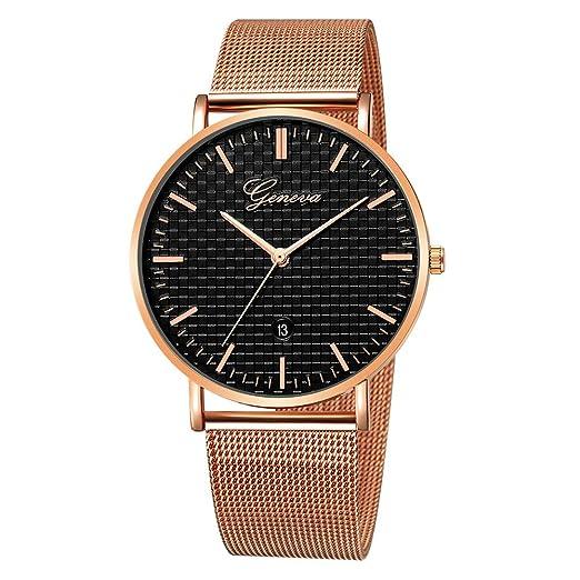 Reloj Inteligente Hombre Deporte, Harpily Hombres Relojes de Lujo para Hombre del Acero Inoxidable del