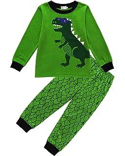 882ea4fae962 Kids Pyjamas for Boys Pajama Set 100% Cotton Pjs Sleepwear T Shirt ...