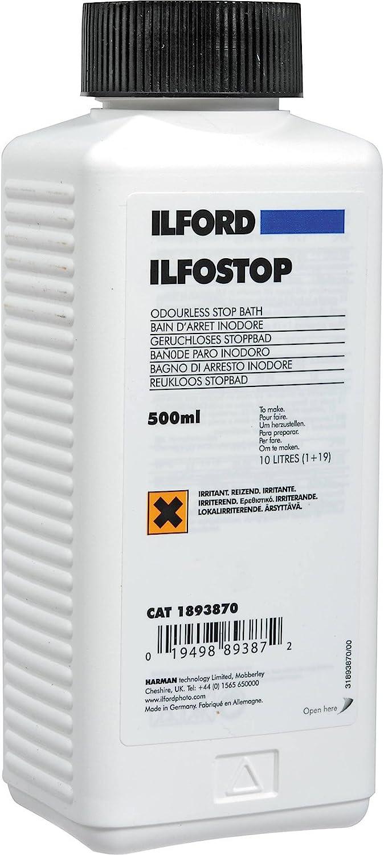 Ilford Ilfostop Stop Film Bath 0.5 Litre