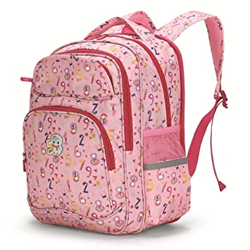 601dea047564 Image Unavailable. Image not available for. Color  Backpack - School Bag  Primary School Female 3-6 Grade Girl Protection Spine ...