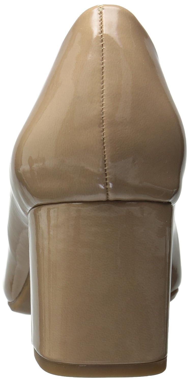 Easy Street Proper Rund Synthetik Stöckelschuhe Hautfarben - Nude Nude - Patent 2d5ed5