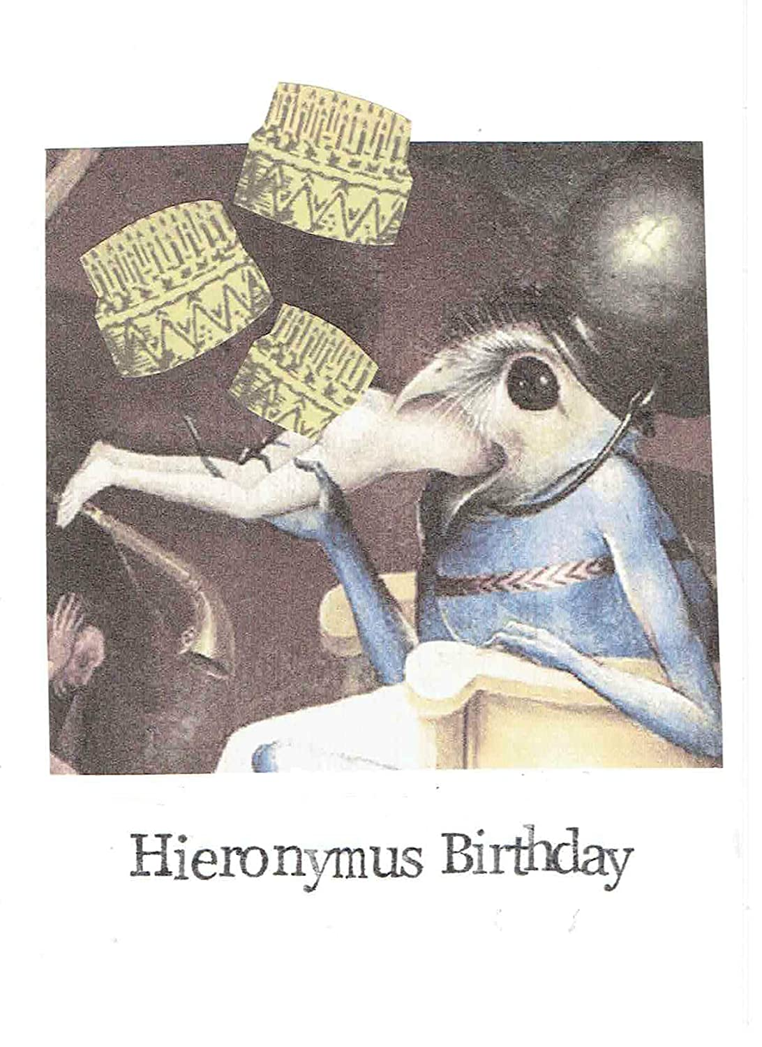 Amazon Hieronymous Birthday Funny Card