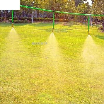 WEREWTR 5PCS Micro aspersores de latón para jardín Boquilla de nebulización Agricultura Nebulizador rociador Riego Riego Adaptación Herramientas Spiker, Grifo sin Tubo: Amazon.es: Juguetes y juegos