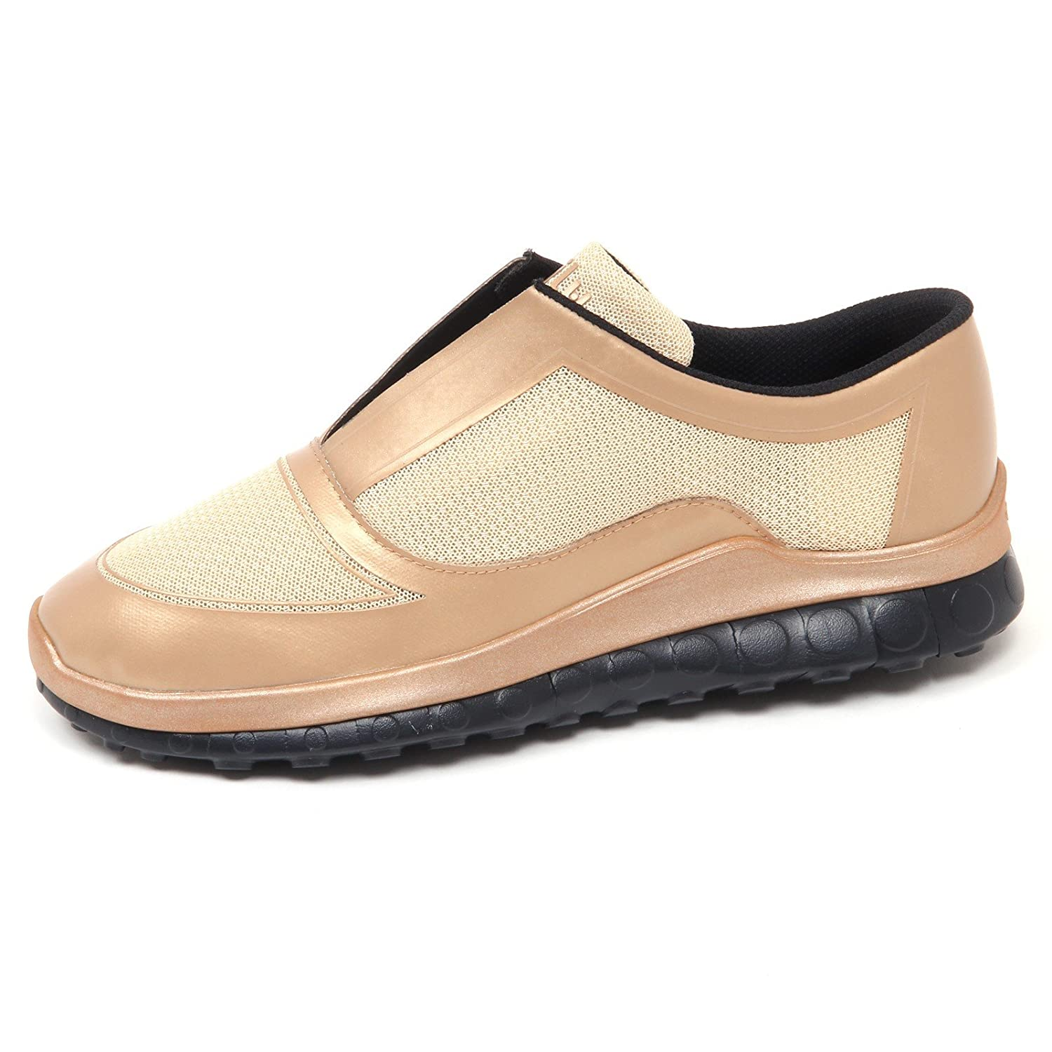 Ccilu E7976 (Without Box) Turnschuhe herren beige Gold Horizon Slip on schuhe Man