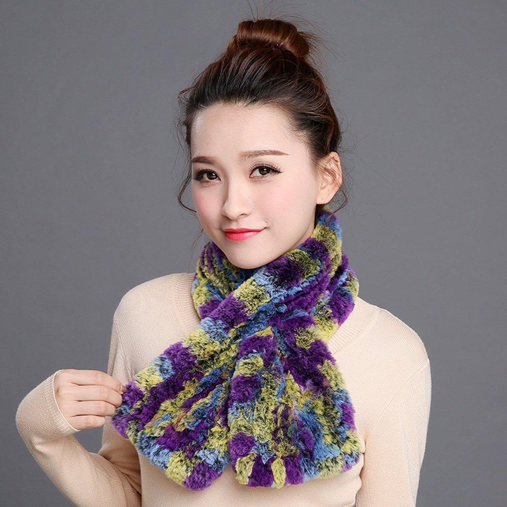 MEIDUO Bufandas y Chales Bufandas de otoño e invierno Bufandas de tejido coreano Calor al aire libre...