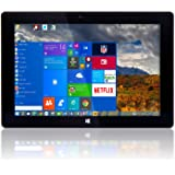 "10"" Windows 10 Fusion5® Ultra Slim Windows Tablet PC - 2GB RAM - 32GB Storage -Full USB Port - Intel AtomTM x5-Z8350 (From September 2017) - Dual Camera - Bluetooth Tablet PC"