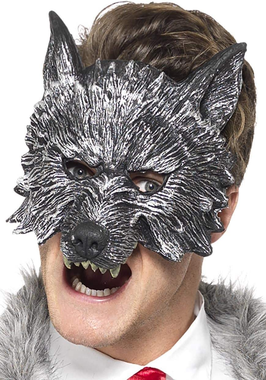 Smiffys 20348 Deluxe Big Bad Wolf Mask One Size