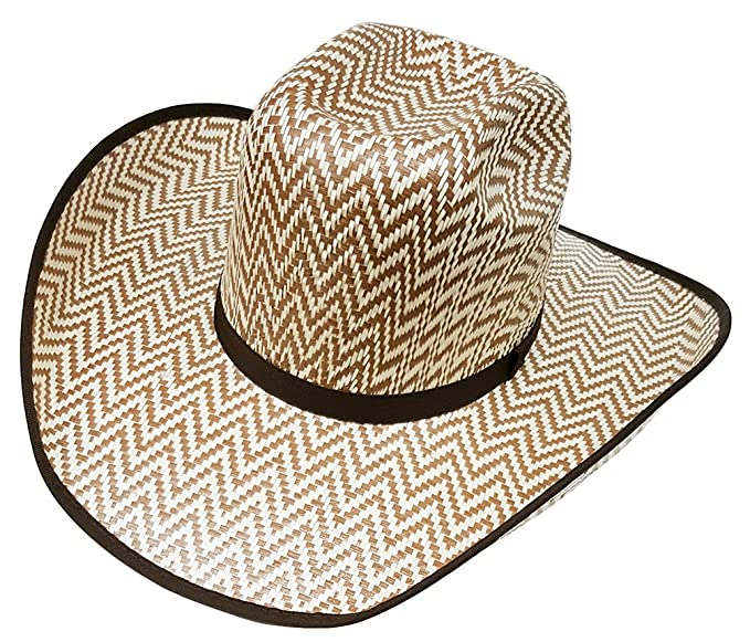 Image Unavailable. Image not available for. Colour  Modestone Traditional  Bangora Rodeo Straw Cowboy Hat Beige 797ca2776981