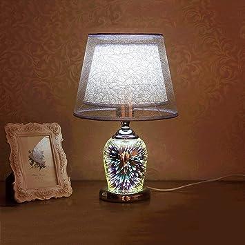 GYAng Lámpara cristalina de la Moda 3D, lámpara de Mesa ...