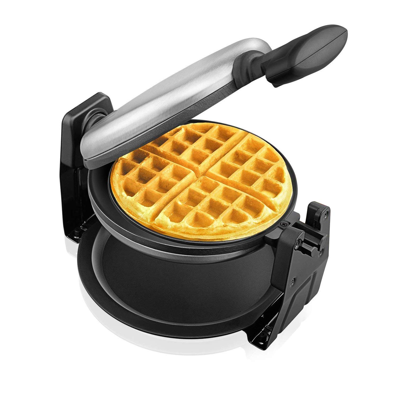 Amazon Aicok Belgian Waffle Maker Stainless Steel Waffle Iron