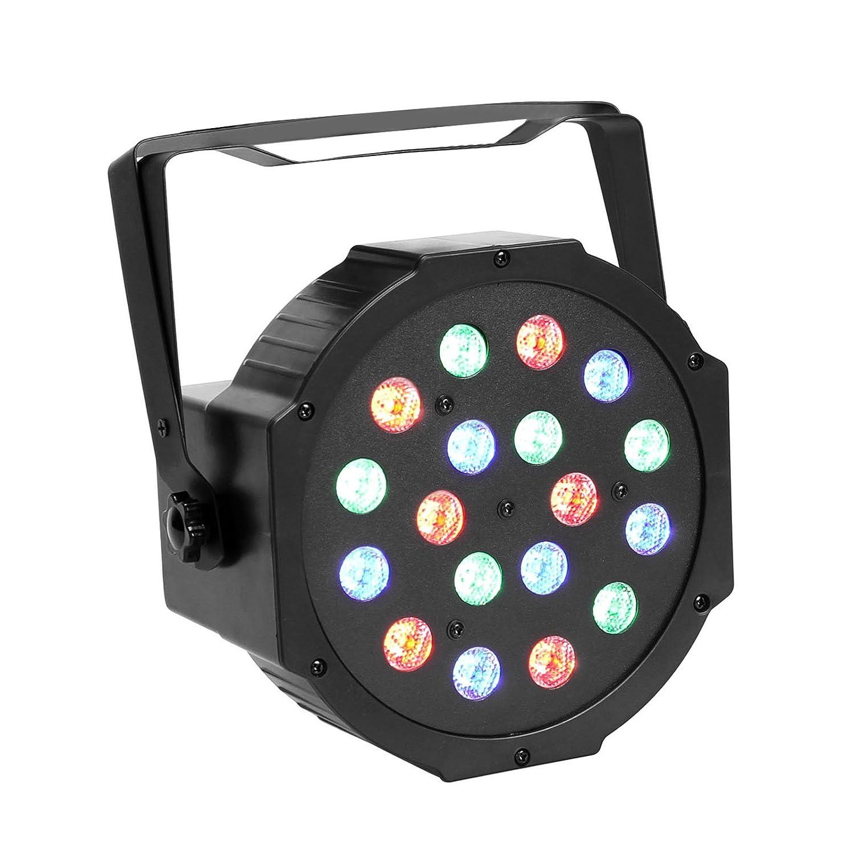 Amazon.com GBGS 18LED Par Lights DJ Up Lighting DMX512 Stage Lighting with RGB Magic Effect Musical Instruments  sc 1 st  Amazon.com & Amazon.com: GBGS 18LED Par Lights DJ Up Lighting DMX512 Stage ... azcodes.com