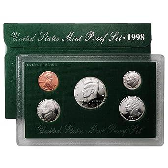 Mint Silver Proof Set 1997 S Silver Roosevelt Dime~Gem Proof~From  Original U.S
